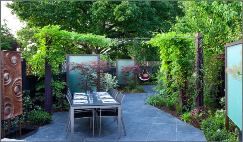 Chic garden design north london jilayne rickards north for Garden design north london