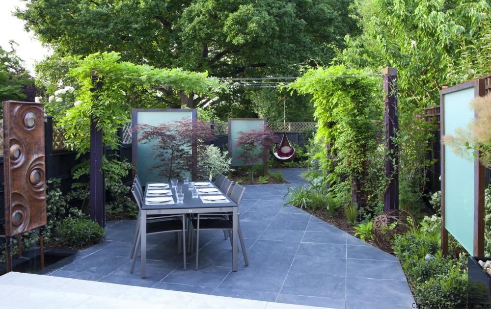 Urban garden design crouch end london n8 for Garden design north london