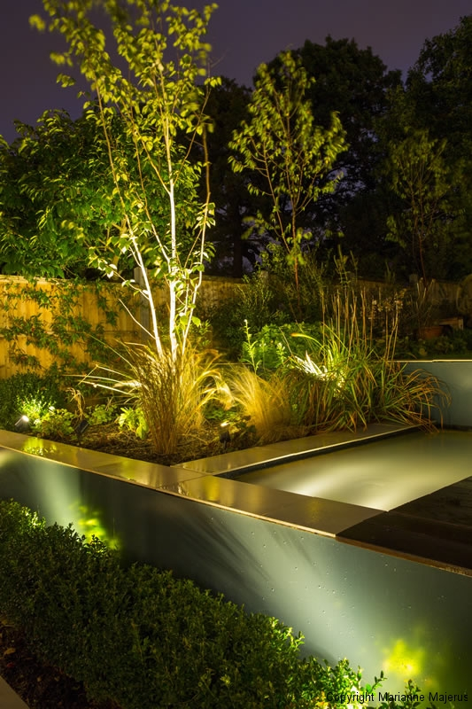 Garden lighting design jilayne rickards north london for Garden lighting designs