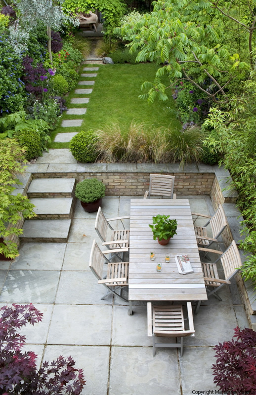 town garden design muswell hill london n10