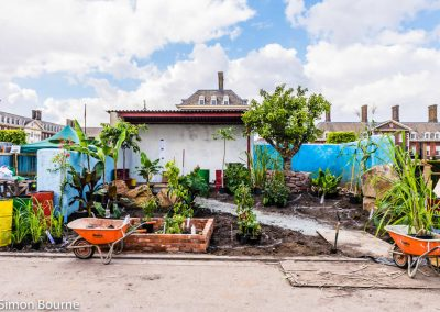 CAMFED Garden 03, Chelsea - Build Day 9, London 2019- small