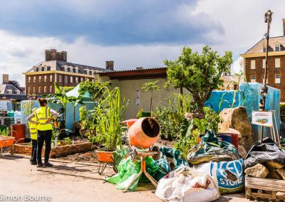 CAMFED Garden, Chelsea - Build Day 9, afternoon, London 2019- small
