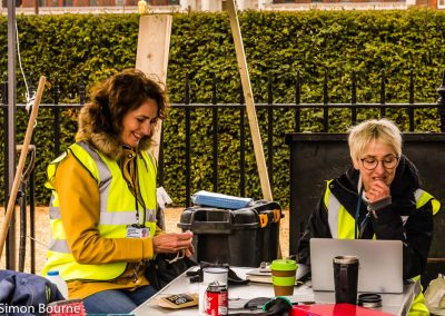 Jilayne & Caroline 02, CAMFED Garden, Chelsea - Build Day 4, London 2019- small