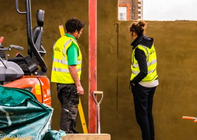 Jilayne & Cormac 01, CAMFED Garden, Chelsea - Build Day 5, London 2019- small