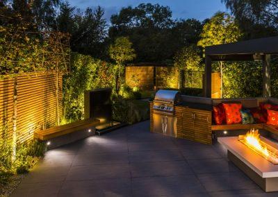 Langton Avenue North London Garden Design
