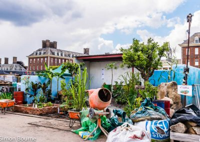 CAMFED Garden 04, Chelsea - Build Day 9, London 2019- small