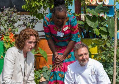 CAMFED Garden 04 (Jilayne, Sinikiwe & Raymond Blanc), Chelsea