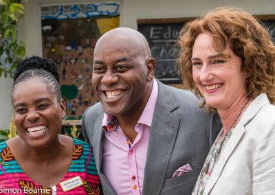 CAMFED Garden 15 (Jilayne, Sinikiwe & Ainsley Harriott), Chelsea