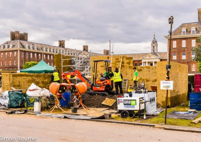 CAMFED Garden, Chelsea - Build Day 4, afternoon, London 2019 - small