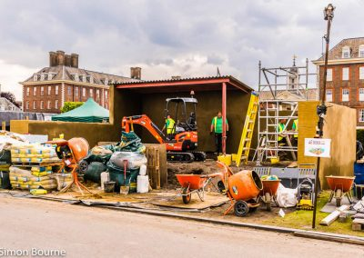 CAMFED Garden, Chelsea - Build Day 5, afternoon, London 2019- small