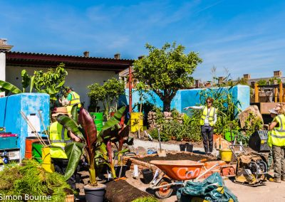 Jilayne 01, CAMFED Garden, Chelsea - Build Day 11, London 2019- small