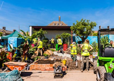 Jilayne 02, CAMFED Garden, Chelsea - Build Day 11, London 2019- small
