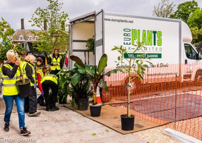 Planting Team 01, CAMFED Garden, Chelsea - Build Day 9, London 2019- small