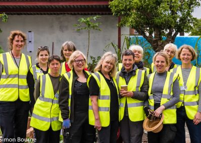 The Planting Team - CAMFED Garden, Chelsea - Build Day 9, London 2019- small