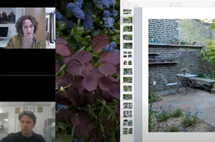 Jilayne Rickards interviewed about The Urban Retreat award winning garden